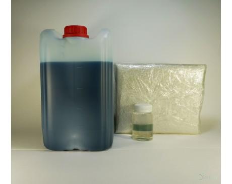 Полиэфирная смола (5 кг) + отвердитель (100 гр) + стекломат (5 м)