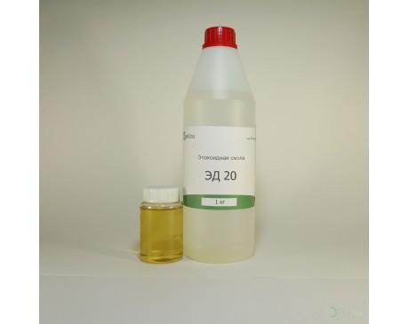 Эпоксидная смола ЭД20 (1 кг) + отвердитель ПЭПА (0,1 кг)