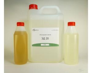 Эпоксидная смола ЭД-20 (5 кг) + отвердитель ПЭПА (0,5 кг) + пластификатором ДБФ (0,5 кг)