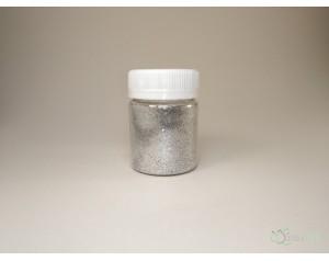 Глиттер серебрянный (20 гр)